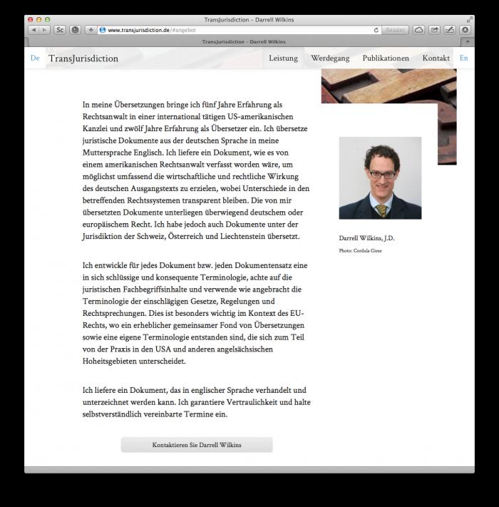 abenteuerdesign for Darrell Wilkins | Transjurisdiction