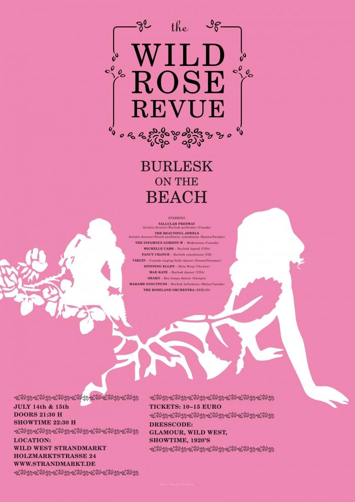 abenteuerdesign for Wild West Strandmarkt   Burlesque On The Beach