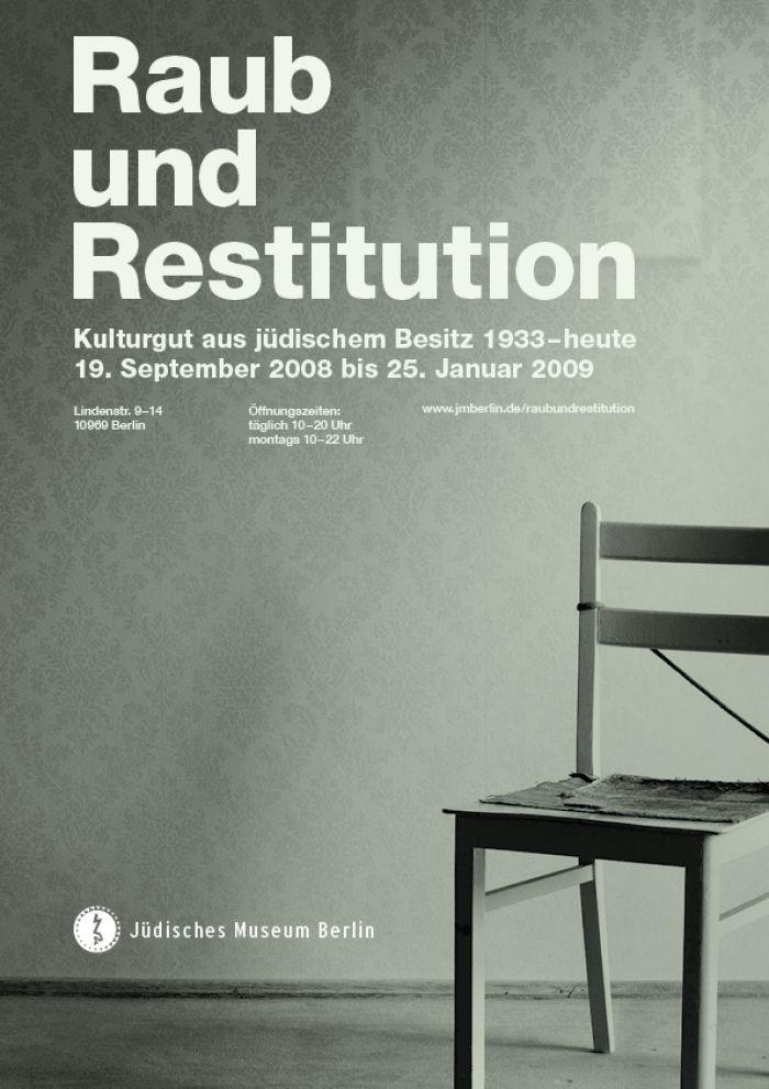 abenteuerdesign for Jüdisches Museum Berlin | Raub und Restitution