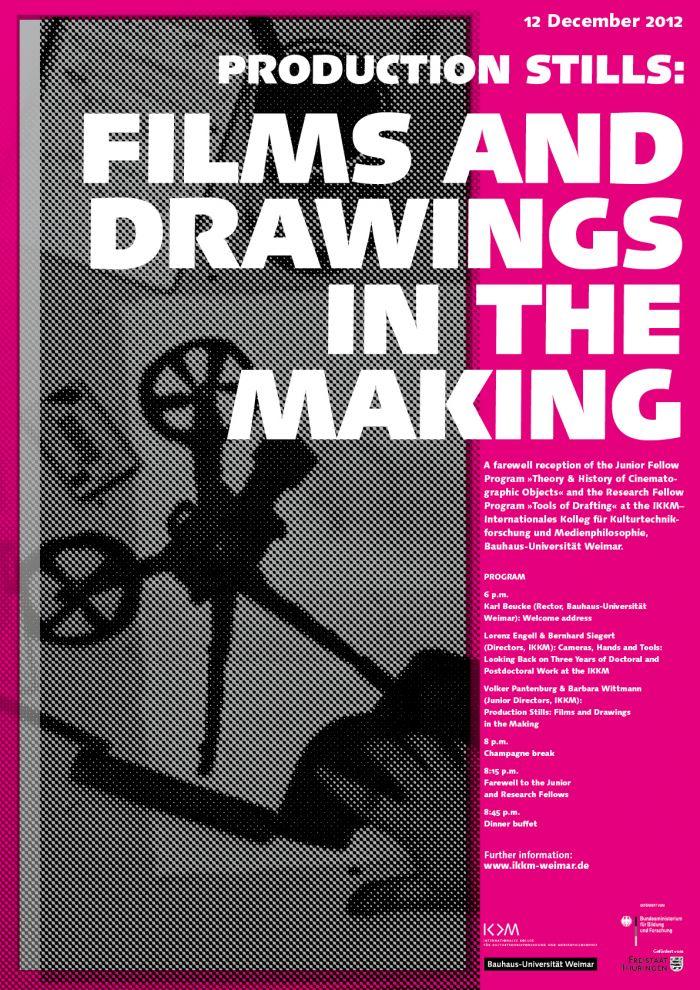 abenteuerdesign for IKKM Bauhaus Universität Weimar | FILMS AND  DRAWINGS  IN THE MAKING