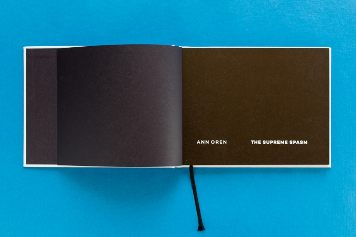 abenteuerdesign for Ann Oren | Ann Oren – The Supreme Spasm