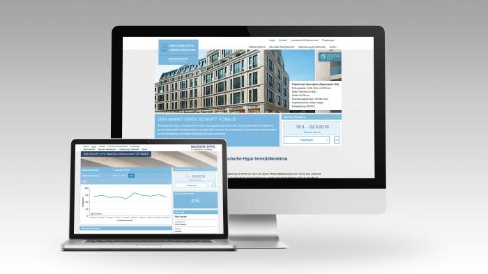 abenteuerdesign for Deutsche Hypo | Deutsche Hypo Immobilienklima