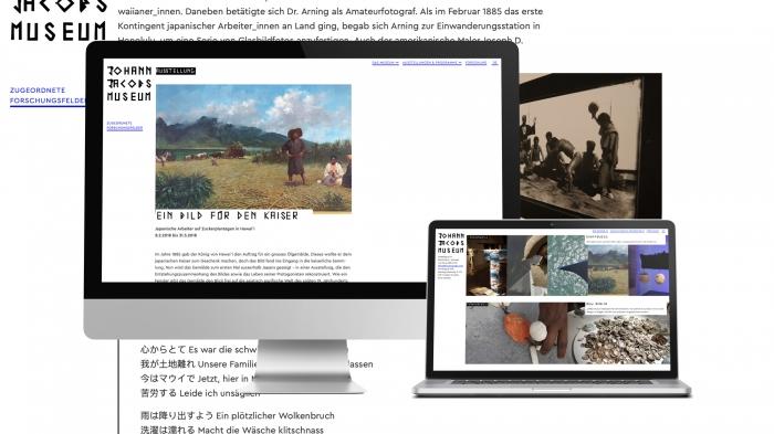 abenteuerdesign for Johann Jacobs Museum | Johann Jacobs Museum