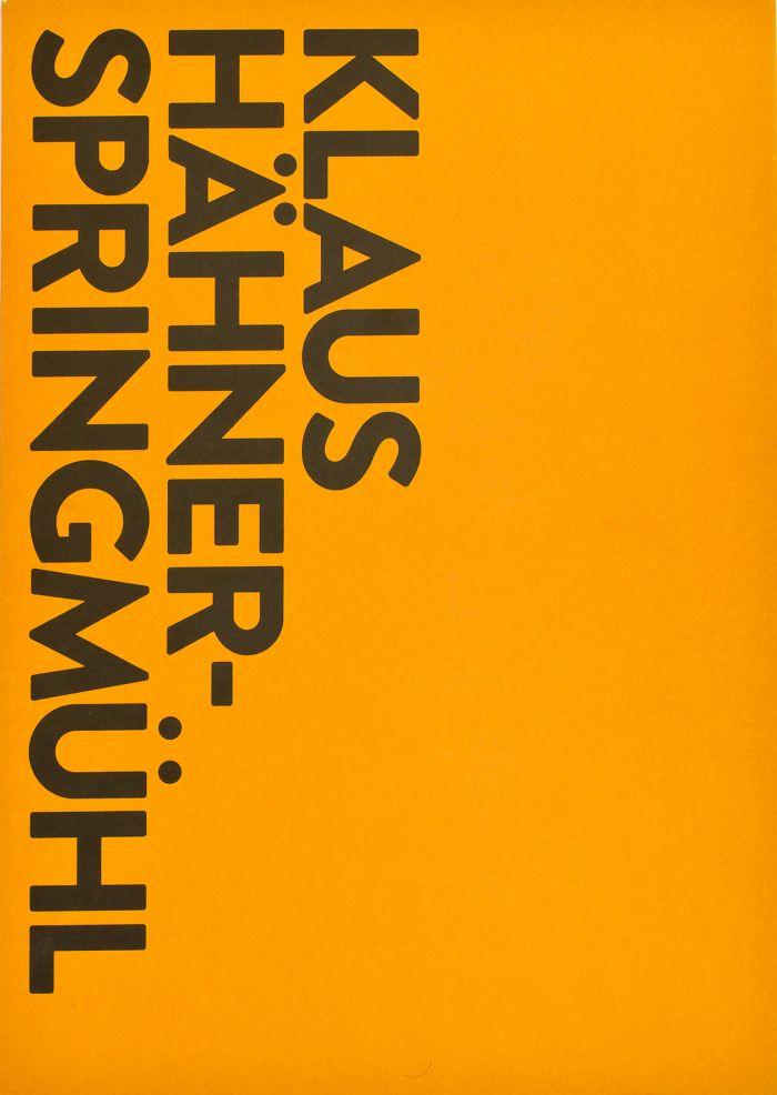 abenteuerdesign | Bethanien: Klaus Hähner Springmühl