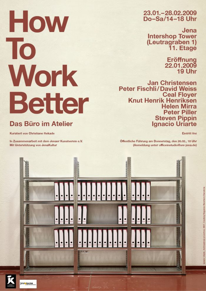 abenteuerdesign for Kunsthistorischen Seminars der Friedrich-Schiller-Universität Jena | How to Work Better